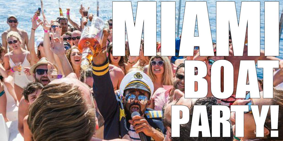 PARTY BOAT MIAMI - BOOZE CRUISE  MIAMI - PARTY BOAT MIAMI - BOOZE CRUISE, 6 November | Event in Miami | AllEvents.in