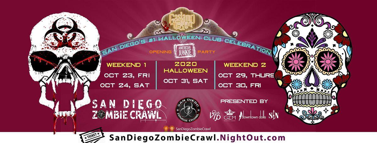 Halloween Party 2020 San Diego 2020 Halloween: San Diego Zombie Crawl   San Diego