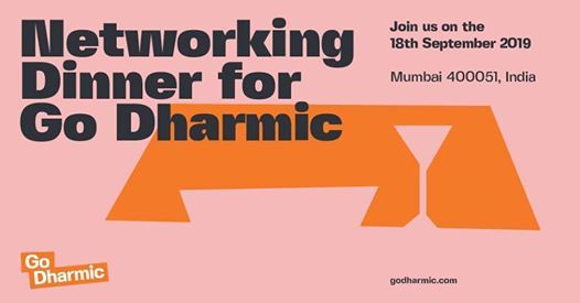 Financial Markets Networking Dinner for Go Dharmic