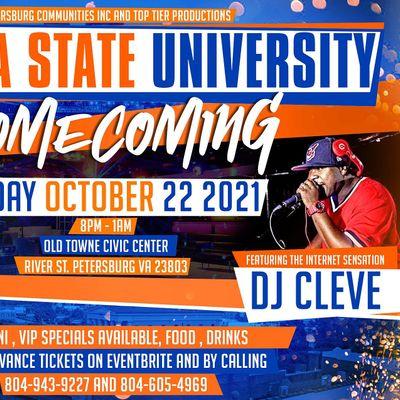 Virginia State  University Homecoming  October 2021