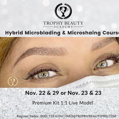 Microblading & Machine Microshading Course