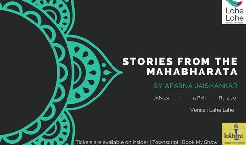 Stories from the Mahabharata, 24 January | Event in Bangalore | AllEvents.in