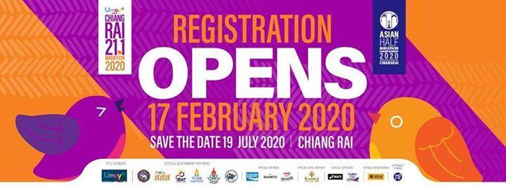 Chiangrai 21.1 Marathon 2020