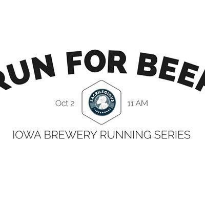 Cider Run - Sacrilegious Ciderworks  2021 Iowa Brewery Running Series