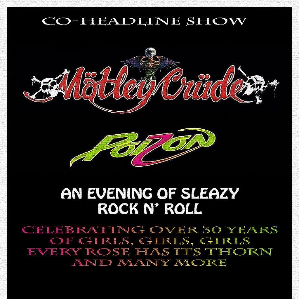 Motley Crude + Poizon, 2 April | Event in Southampton | AllEvents.in