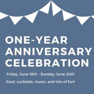 One Year Anniversary Celebration