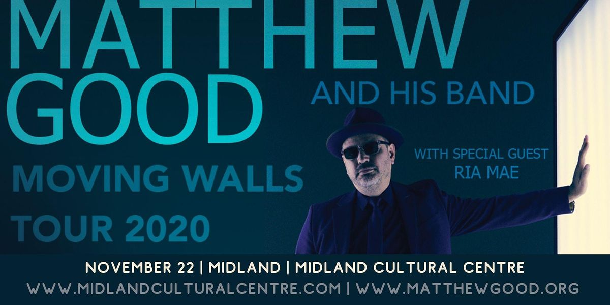 Matthew Good - Moving Walls Tour 2020, 1 October | Event in Midland | AllEvents.in