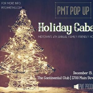 PMT Pop Up Holiday Cabaret