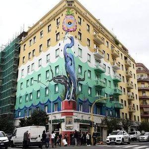 Street art al Quartiere Ostiense(Dal Vivo)