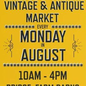 Vintage & Antique Mondys in August