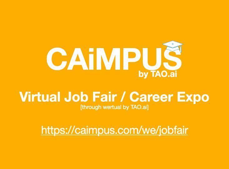 #Caimpus Virtual Job Fair/Career Expo #College #University Event#Washington | Event in Washington | AllEvents.in