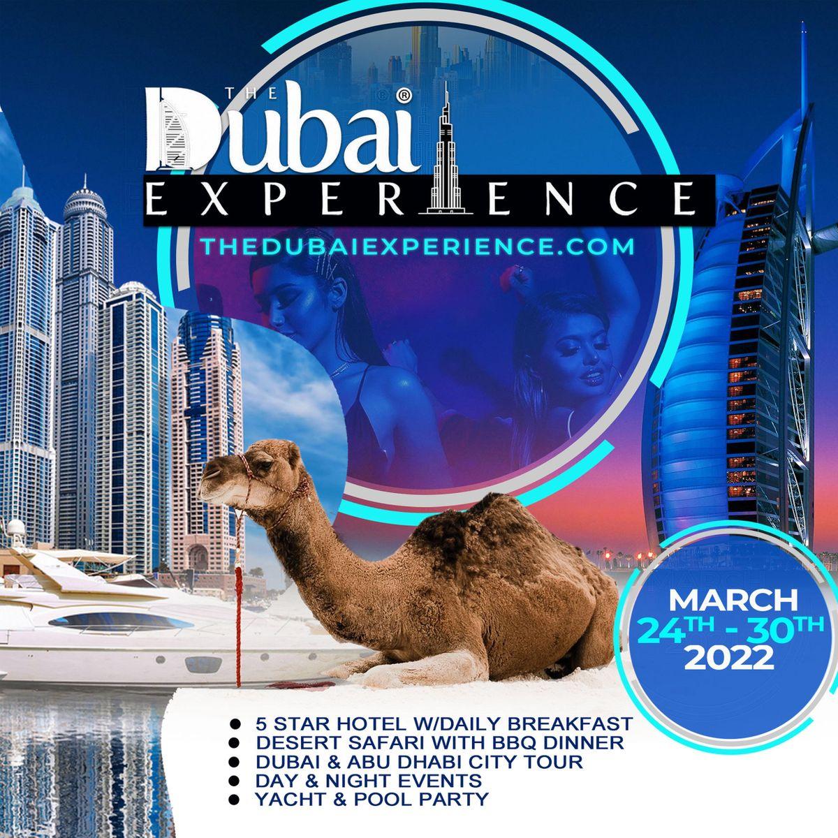 THE DUBAI EXPERIENCE March 24 - 30, 2022, 24 March | Event in Dubai | AllEvents.in