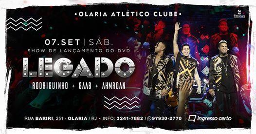 Legado - Rodriguinho Gaab e Ah Mr.Dan no Olaria Atltico Clube