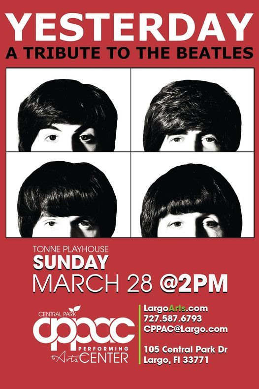 Yesterday: A Tribute to the Beatles, 28 March | Event in Largo | AllEvents.in
