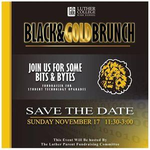 Black & Gold Family Brunch