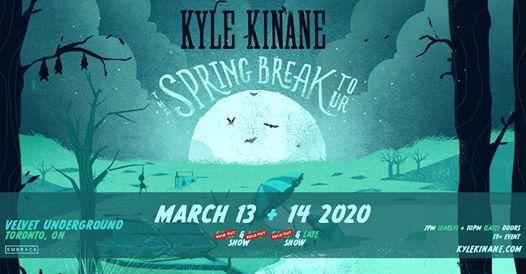 Kyle Kinane The Spring Break Tour  March 13 & 14