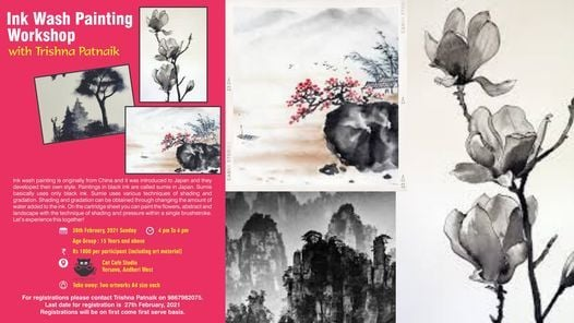 Ink wash painting workshop with Trishna Patnaik | Event in Mumbai | AllEvents.in