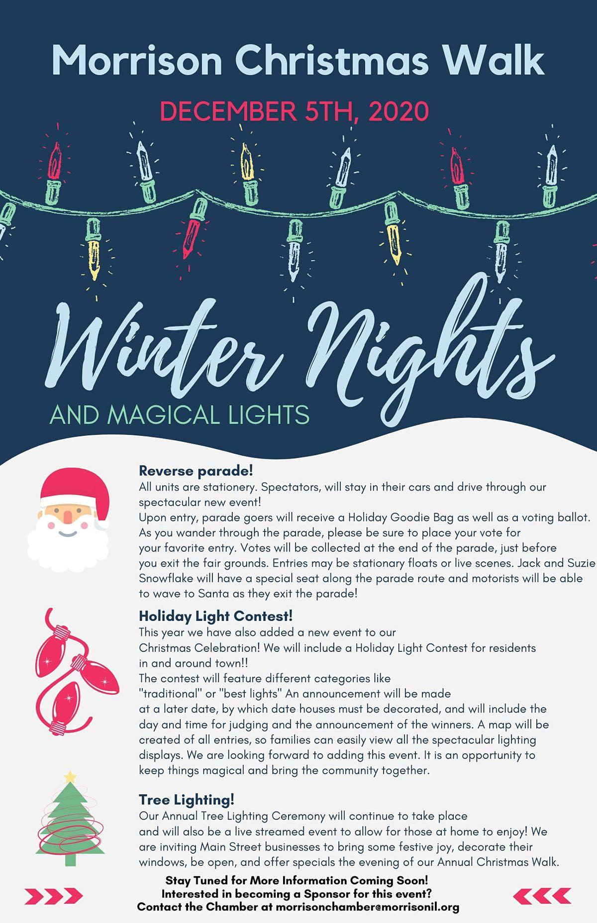 Peoria Il Christmas House Walk 2020 2020 Morrison Christmas Walk   Winter Nights and Magical Lights