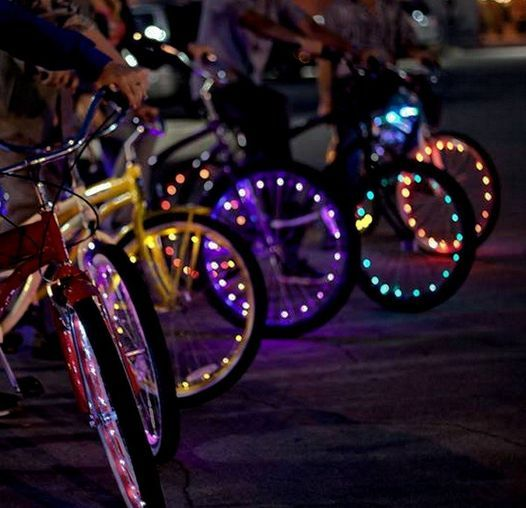 """The """"Glow Night Ride"""" # 47 
