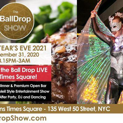 2021 new years eve ball drop nyc