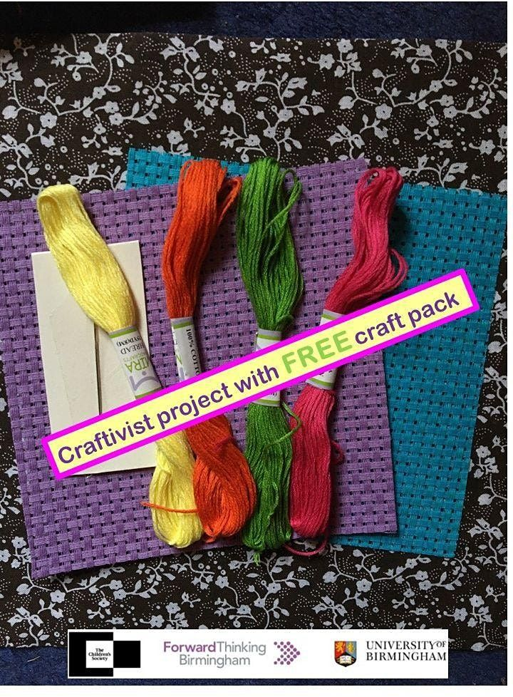 Craftivism FREE pack with Pause@UoB   Online Event   AllEvents.in