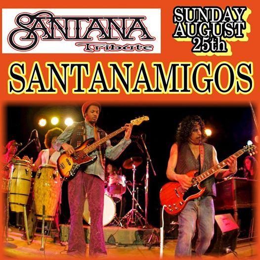 SANTANAMIGOS-Santana Tribute at Let It All Hang Out Fest