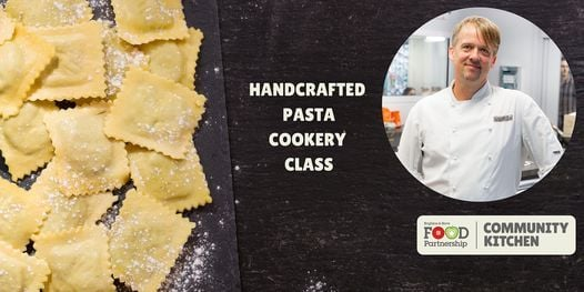 Handcrafted pasta with Jethro from Kitchen Academy (in person), 19 May   Event in Brighton   AllEvents.in