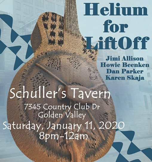 Helium for LiftOff Live at Schullers Tavern