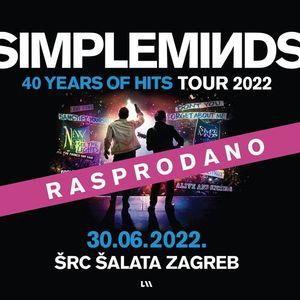 Simple Minds u Zagrebu