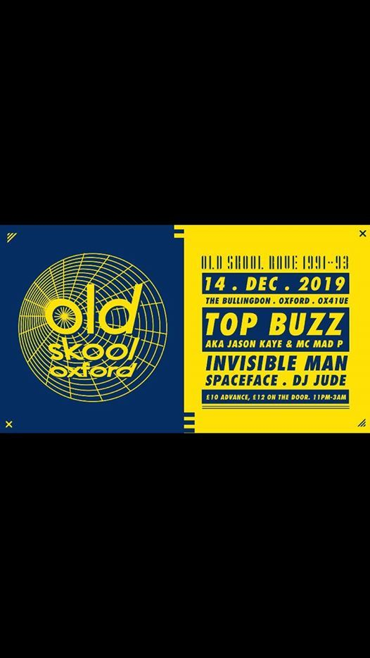 Top Buzz Old Skool Oxford Invisible Man Dj Jude Spaceface