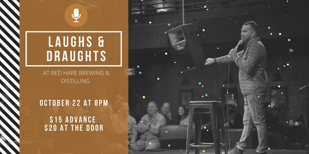 Laughs & Draughts at Red Hare Brewing and Distilling, 22 October | Event in Marietta | AllEvents.in