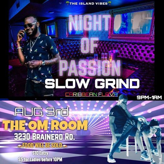 Night of Passion Slow Grind