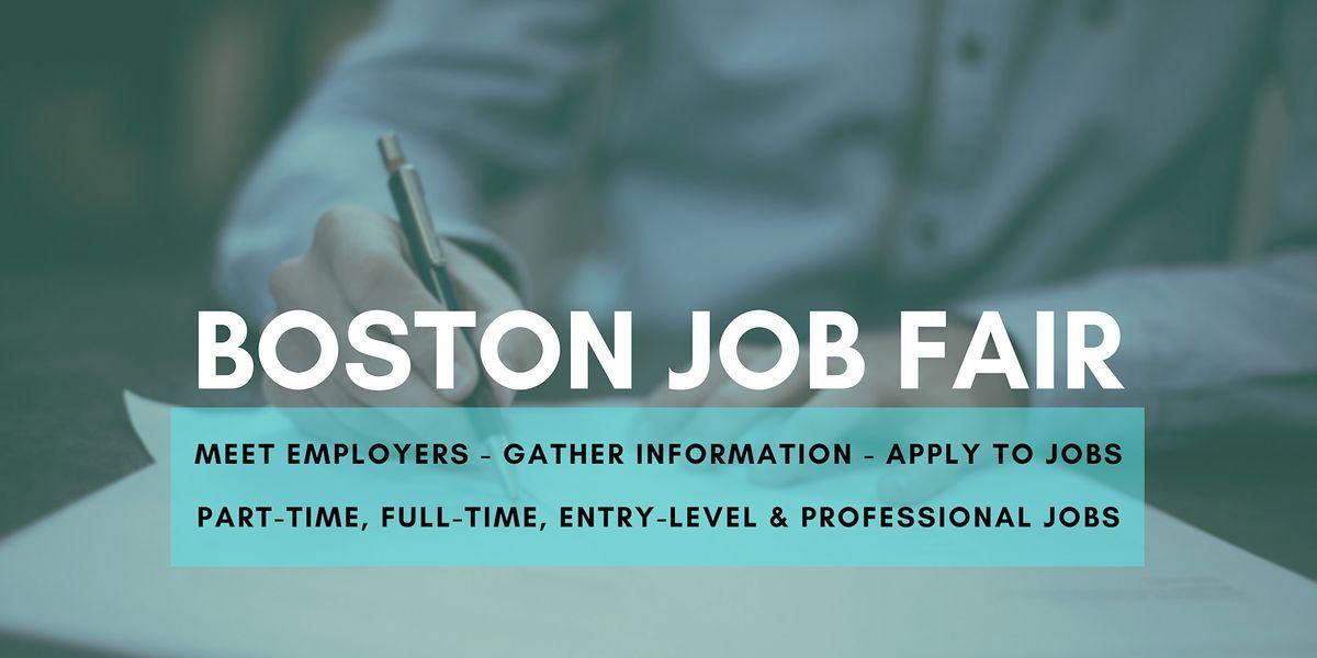 Boston Job Fair - August 10 2020 - Career Fair