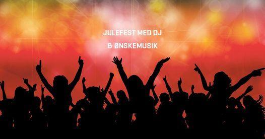 Julefest med DJ & ønskemusik (siddende arr. uden dans), 5 December   Event in Fredericia   AllEvents.in