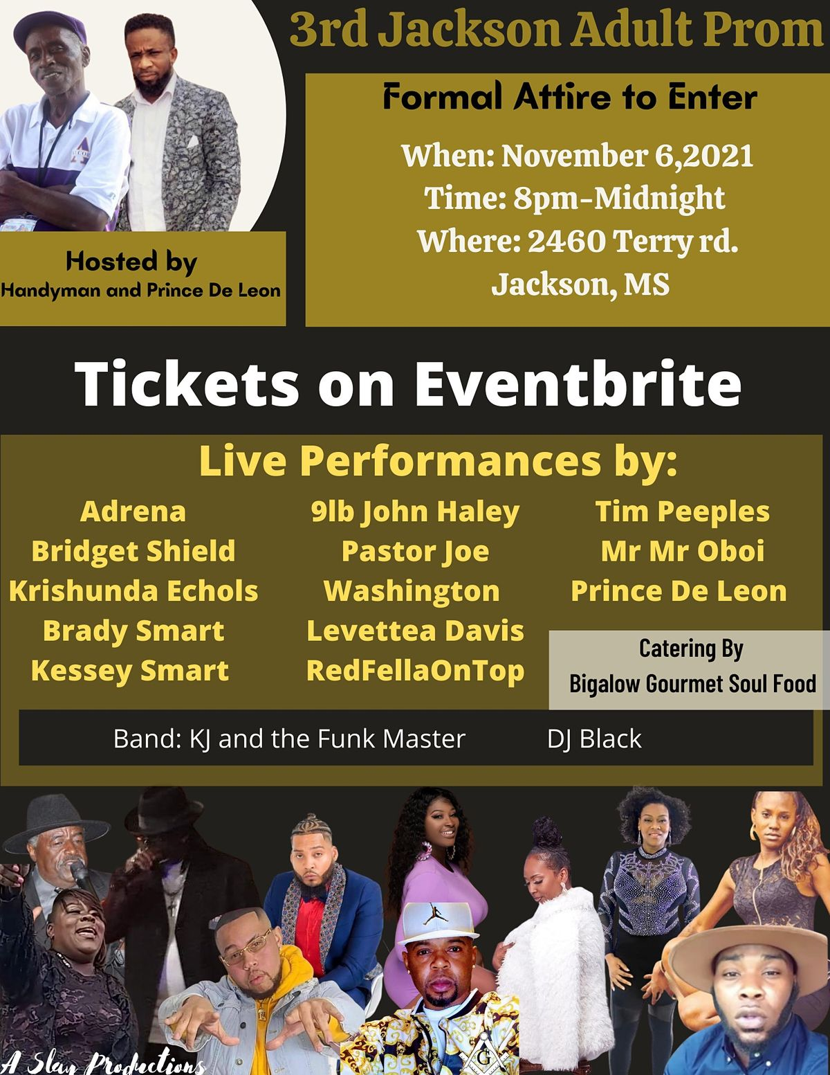 3rd Jackson Adult Prom, 12 February   Event in Jackson   AllEvents.in
