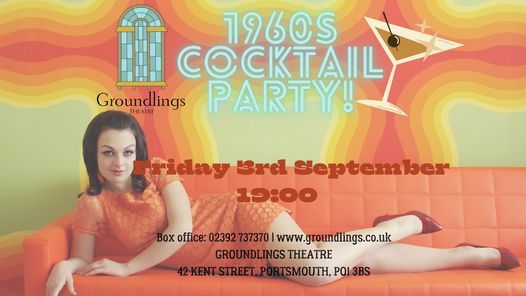 1960s Cocktail Night, 23 July | Event in Portsmouth | AllEvents.in