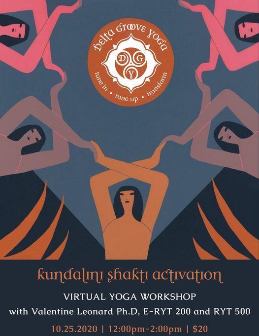 Kundalini Shakti Activation : Virtual Yoga Workshop | Online Event | AllEvents.in