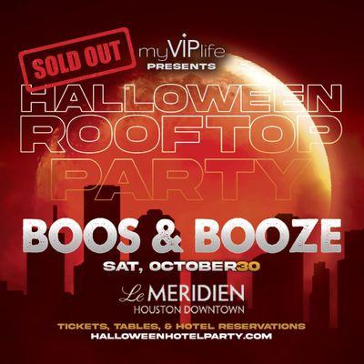 Halloween Rooftop Party
