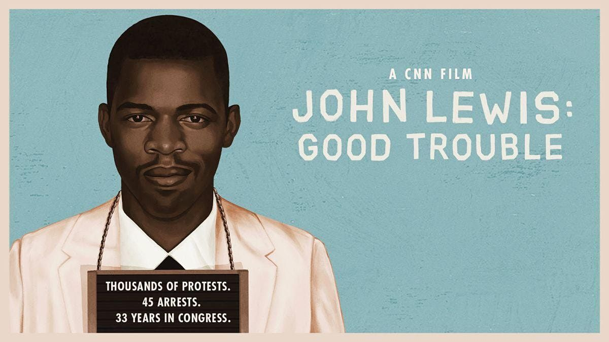"John Lewis: ""Good Trouble"" Virtual Movie Night, 1 November 