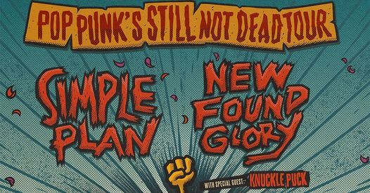 Simple Plan and New Found Glory, 8 October | Event in Yonkers | AllEvents.in