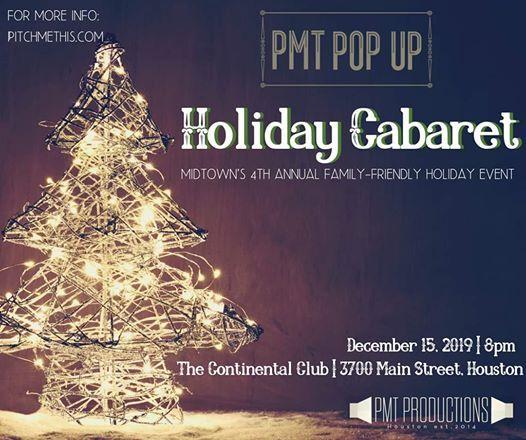 PMT Pop Up Holiday Cabaret