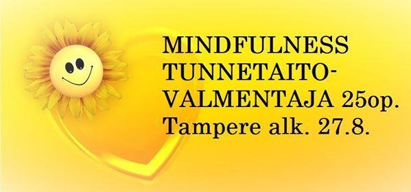 Mindfulness tunnetaitovalmentaja Tampere