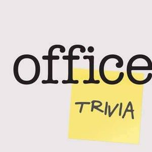 Online - The Office Trivia Night