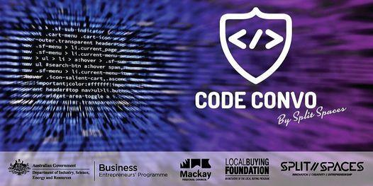 Code Convo, 15 June   Event in Mackay South   AllEvents.in