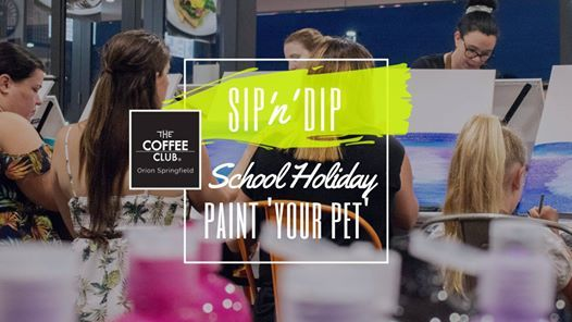 Orion Springfield - School Holiday Art Workshop - Paint your pet