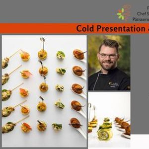 Cold Presentation & Canape Workshop