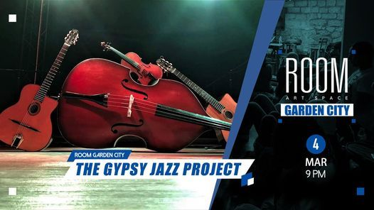 The Gypsy Jazz Project at Room Garden City   Event in Cairo   AllEvents.in