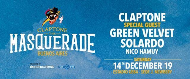 The Masquerade Buenos Aires ft Claptone - Green Velvet - Solardo