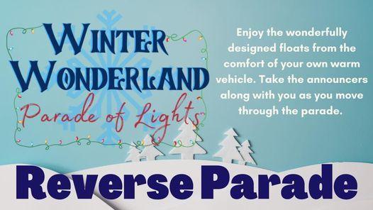 Sidney Ohio Christmas Parade 2020 Winter Wonderland REVERSE Parade of Lights, Shelby County Fair