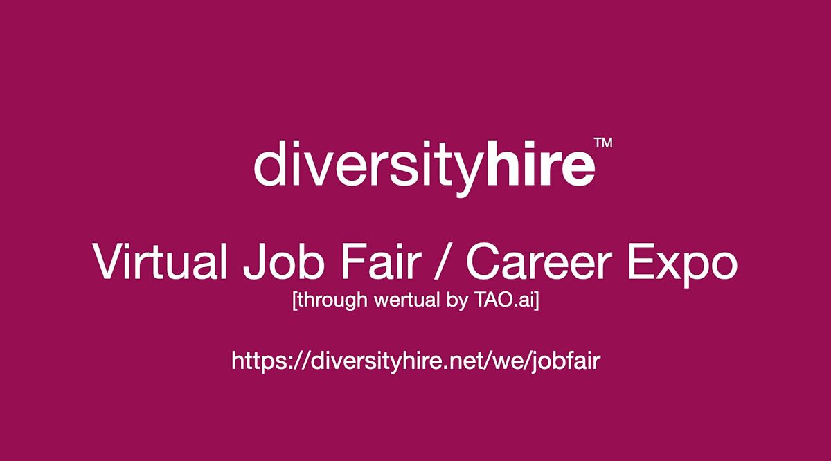 #DiversityHire Virtual Job Fair / Career Expo #Diversity Event  #Lakeland | Event in Lakeland  | AllEvents.in